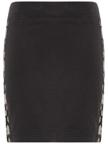 Пайетки юбка из Sweatshirtstoff