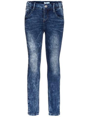 NAME IT Nitassa облегающий форма джинсы