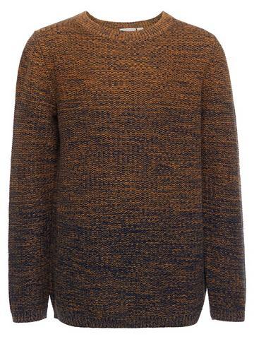 Длинный рукав трикотажный пуловер
