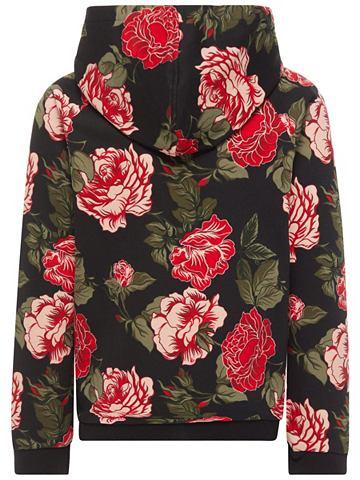 Floral с принтом кофта трикотажная