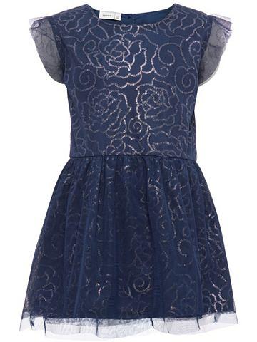 NAME IT Тюль платье с короткая рукавами