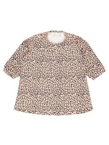 Leopardenmuster платье спортивного сти...