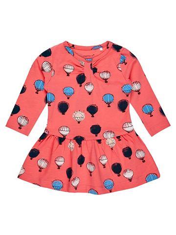 Luftballon-Print платье с длинa рукава...