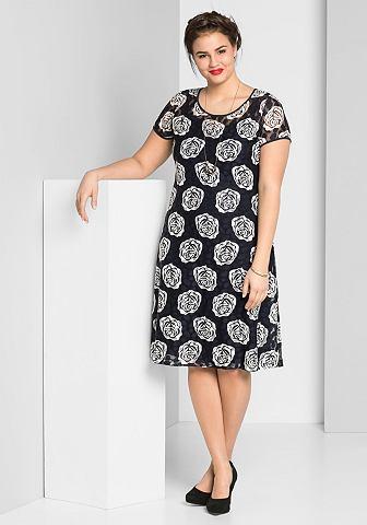 Sheego кружевное платье