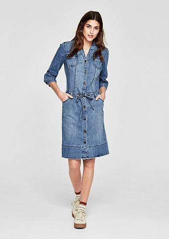 Платье джинсовое с Taillen-Tunnelzug