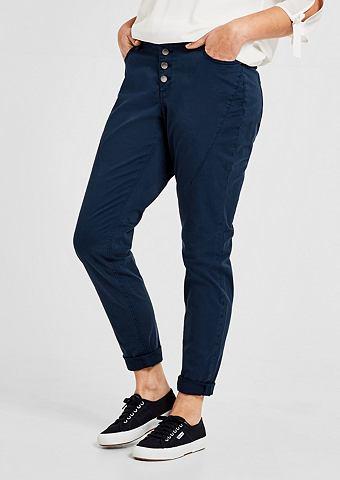 Красивая Boyfriend: брюки твиловые