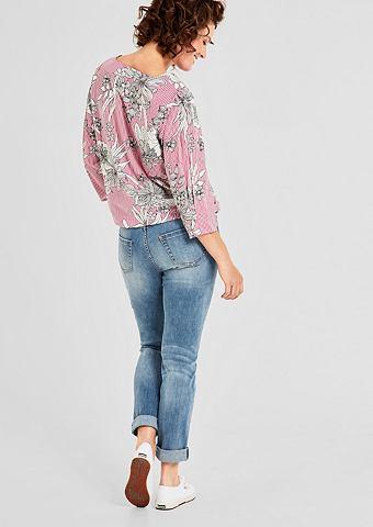 Curvy Extra Зауженные вышитый джинсы