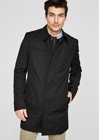 Modern форма: нежный пальто короткое