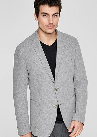 Modern форма: пиджак с Wabenstruktur