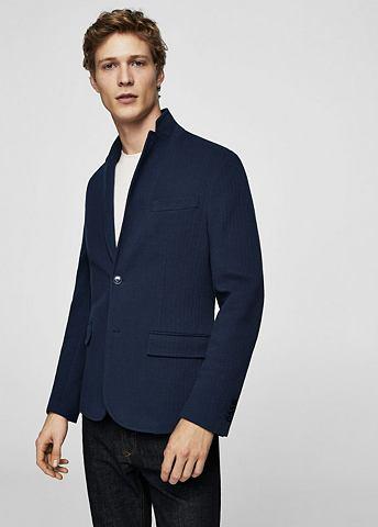 Пиджак с узор елочка