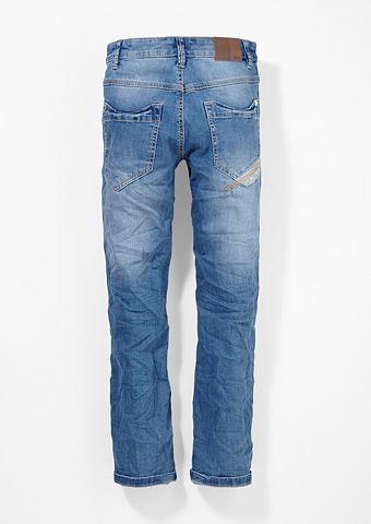 Pete: эластичный потертые джинсы для J...