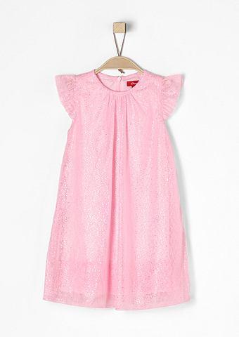 Платье из тюля с блестящий орнамент дл...