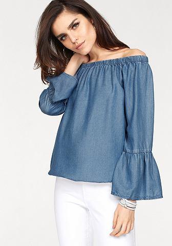 Блузка в стиле кармен »SANDY&laq...