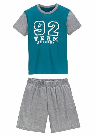 Le брюки пижама короткая с Nummern узо...
