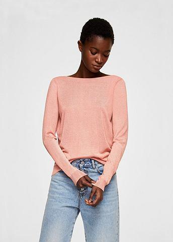 Пуловер с Rückenschlitz