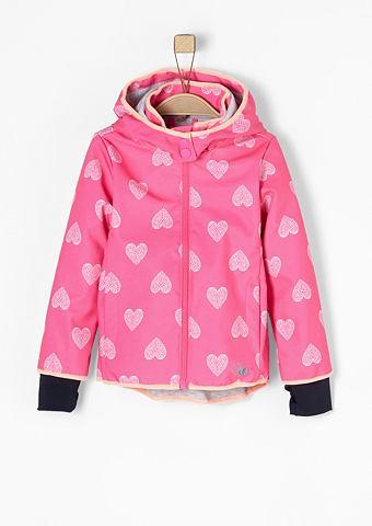 Куртка с теплой подкладкой с Herzprint...