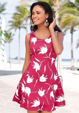 Платье с weit schwingendem Rockteil