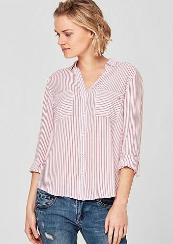 Полосатый блузка