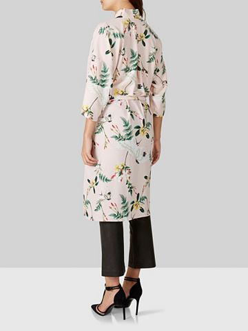 Цветы кимоно халат
