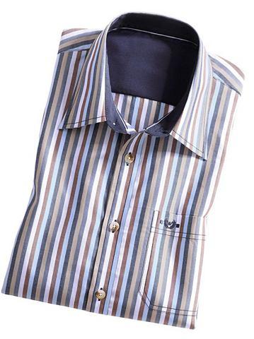 Рубашка с коротким рукавом с закруглен...
