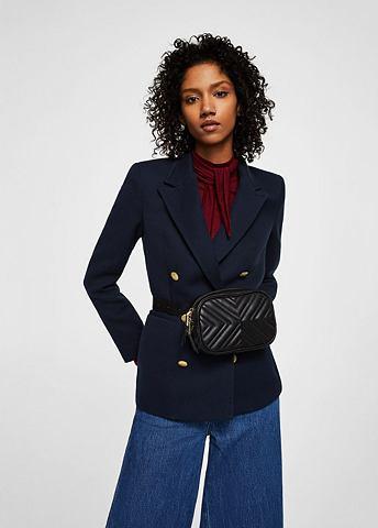 Zweireihiger пиджак из хлопка
