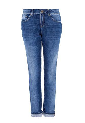 Boyfriend джинсы в Used-Look