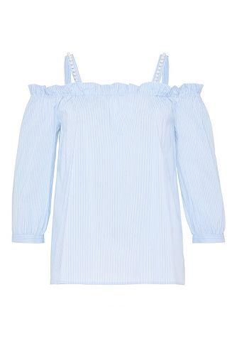 Блузка с голыми плечами с Perlentr&aum...