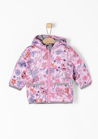 Цветочный узор Куртка стеганая для Bab...