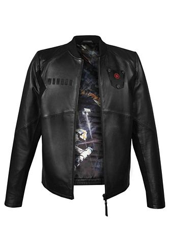 Куртка кожаная »TIE ,,Пилотa&quo...