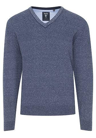 Пуловер с V-образным вырезом Jeans-Loo...