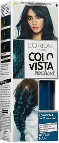 COLOVISTA »Long-Wear-Wash-Out« Color...