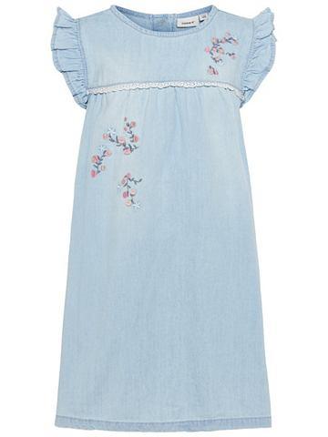 Джинсы платье