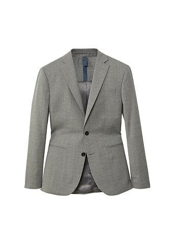 Узкий форма пиджак из Wolle