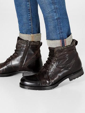 Jack & Jones кожаные сапоги