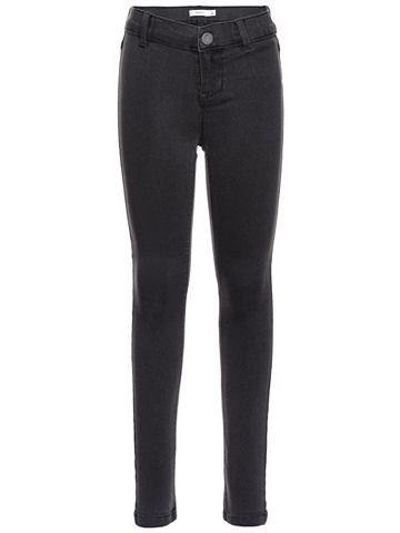 Super-Stretch- облегающий форма джинсы...