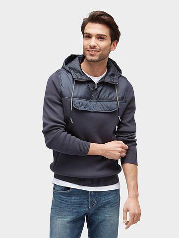 Пуловер с капюшоном спортивный Свитер ...