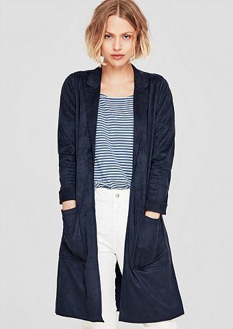 Langer пальто в Velours-Look