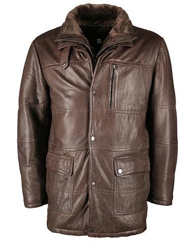 Куртка кожаная с карман »-09-703...