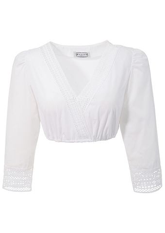 Блузка из национального костюма с элас...