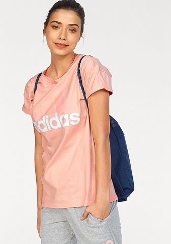 ADIDAS PERFORMANCE Футболка »ESSENTIALS LINEAR своб...