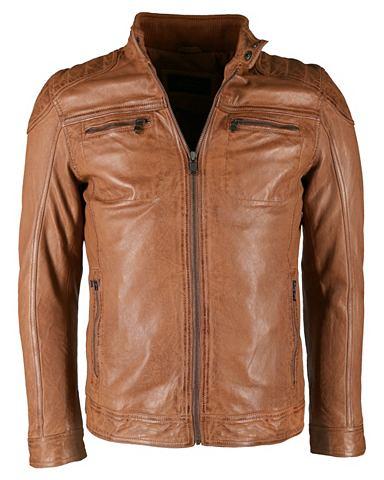Куртка кожаная с Polsterungen в Bikers...