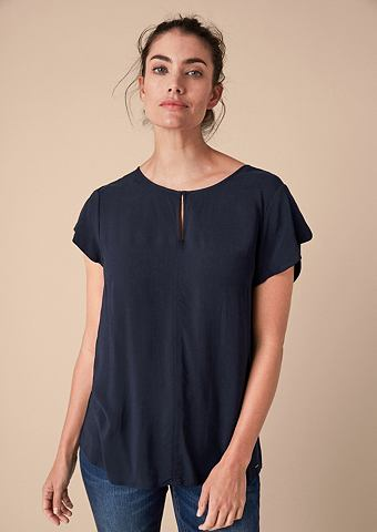 Luftige блуза с Volantärmeln