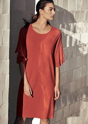 Красивый платье в Double-Face-Look
