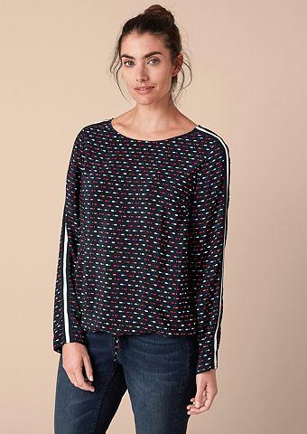 Блуза с lässigem узор