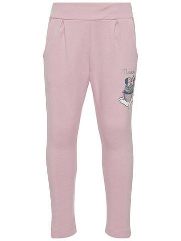Minnie Maus узор брюки спортивные
