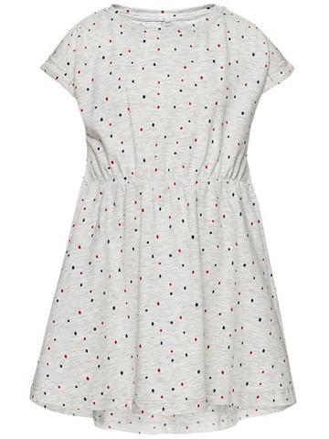 Nitgosa платье с короткая рукавами