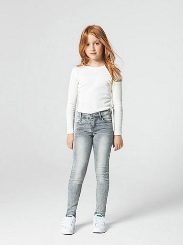 NAME IT - облегающий форма джинсы