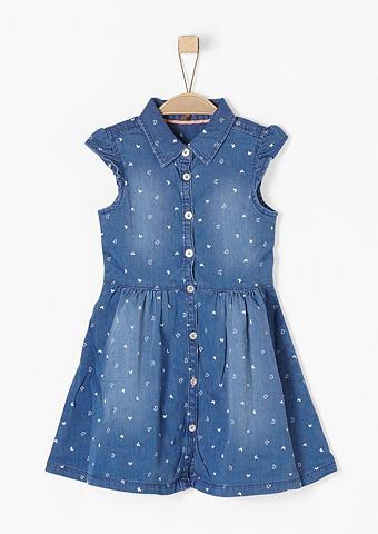 Платье джинсовое с узор для Mädch...
