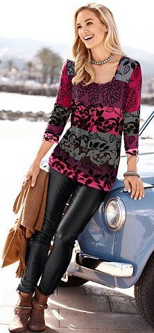 Туника-рубашка с Karree-Ausschnitt