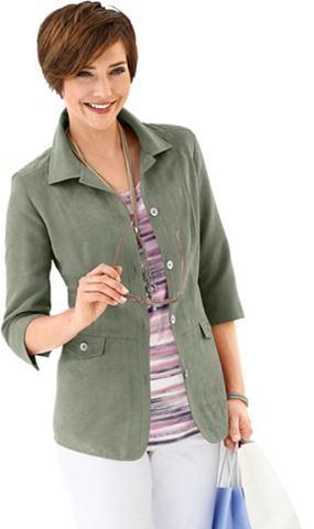 COLLECTION L. Пиджак-рубашка в attraktiver имитация ...